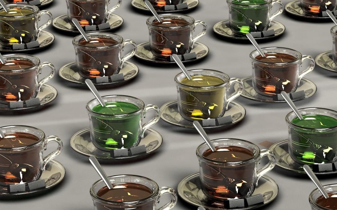Les nombreux types de thé