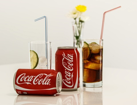 Les sodas, dont le coca-cola, sont la 5e boisson la plus consommée dans le monde