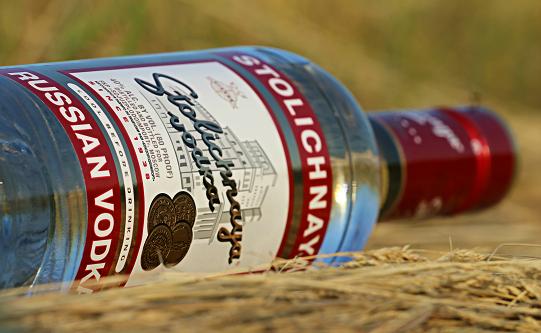La vodka est la 8e boisson la plus consommée dans le monde